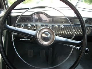 1951 Mercury steering wheel